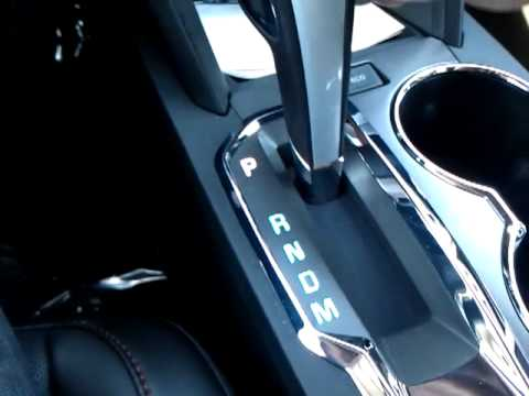 how to change automatic to manual