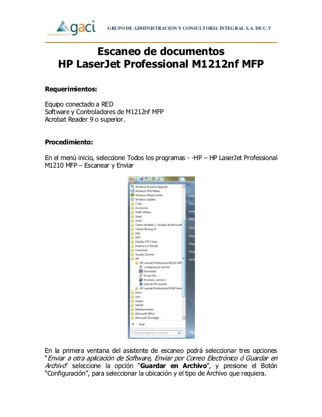 hp laserjet professional m1212nf mfp manual