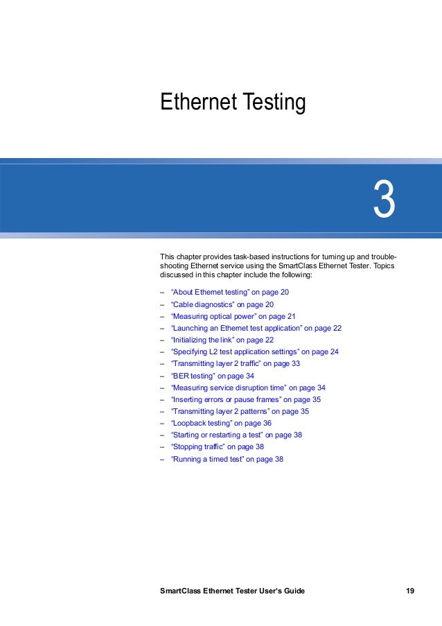 jdsu smartclass ethernet tester manual