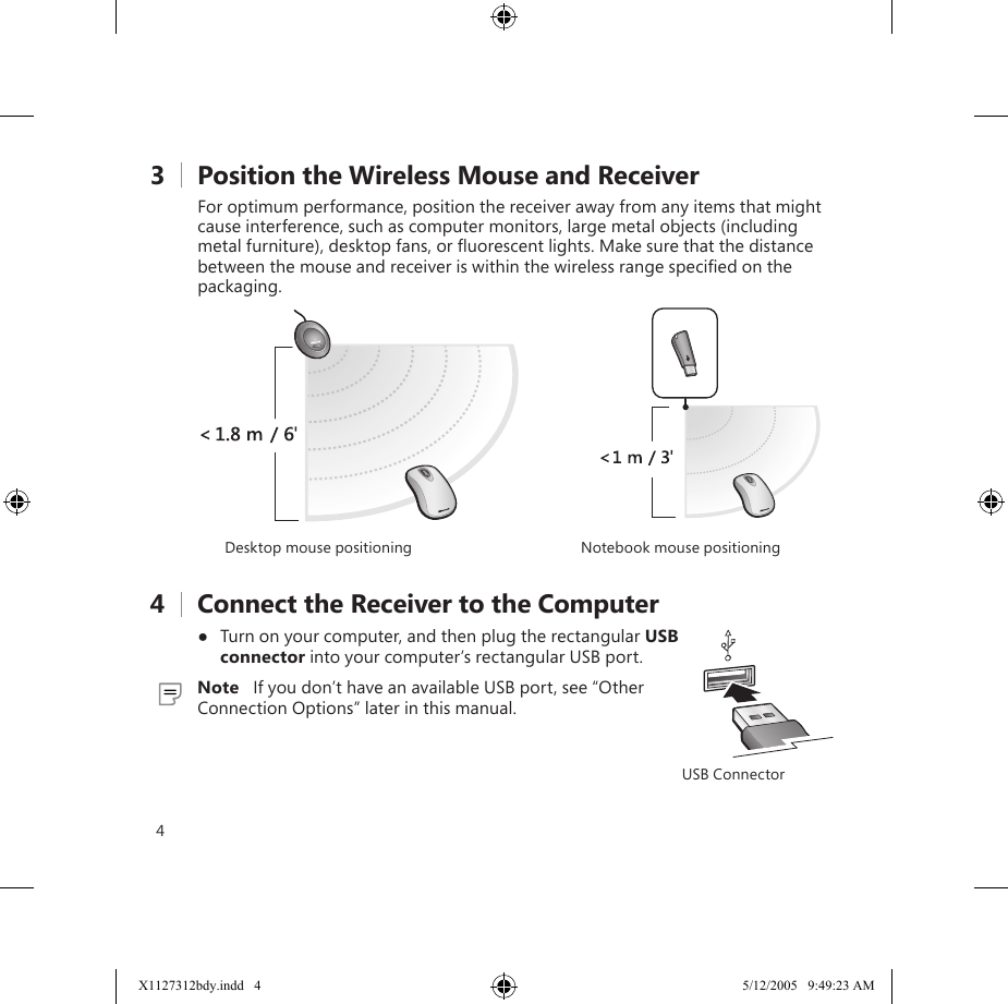 microsoft wireless mouse 5000 user manual