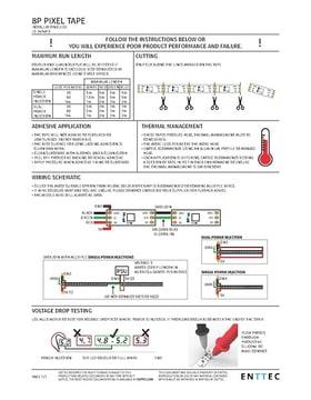 mini led moving head manual