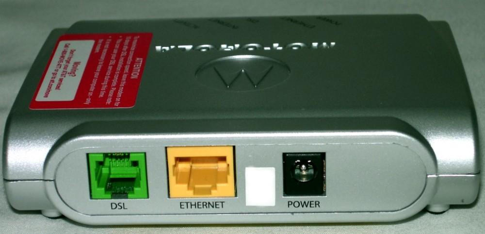 motorola 2210 dsl modem manual