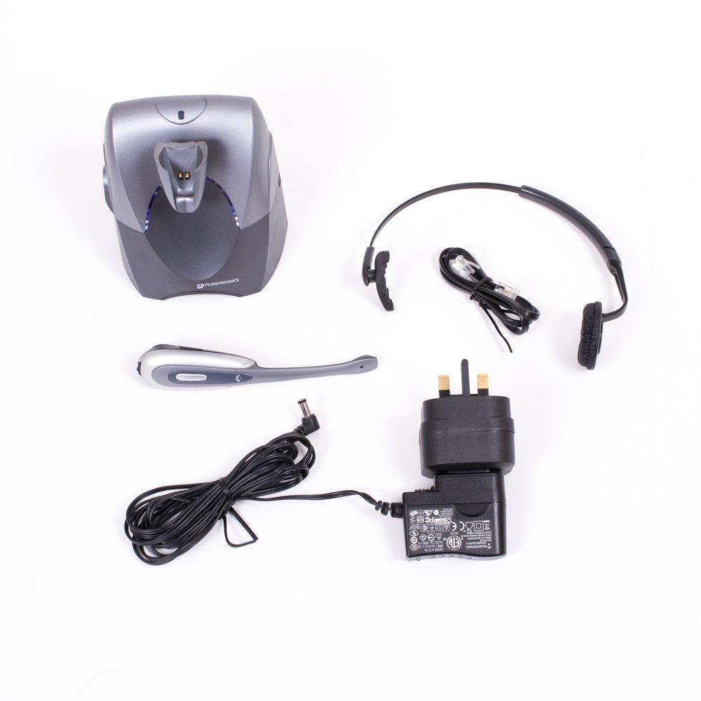 plantronics cs60 wireless headset manual