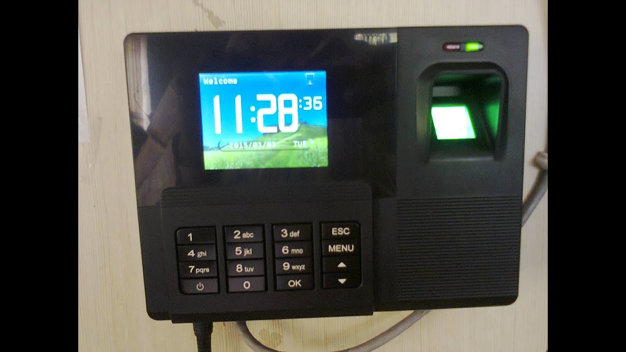 time attendance management system manual