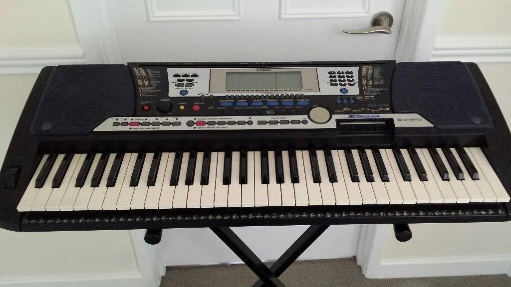 yamaha psr 195 keyboard manual